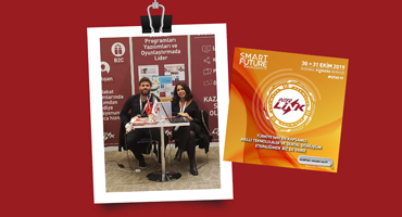 SMART FUTURE WORLD EXPO FUARINDA YERİMİZİ ALDIK
